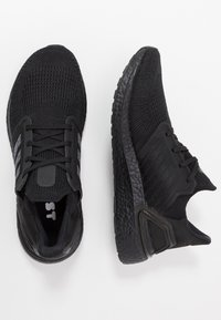 adidas Performance - ULTRABOOST 20 PRIMEKNIT RUNNING SHOES - Neutrala löparskor - core black/solar red - 1