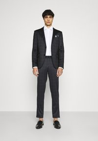 Lindbergh - CHECKED SUIT - Completo - black - 1