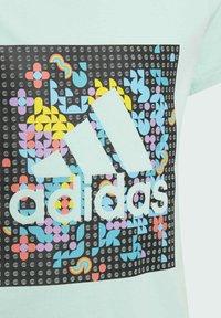 adidas Performance - LEGO DOTS G 2 - T-shirt print - turquoise - 4