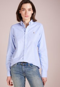 Polo Ralph Lauren - OXFORD SLIM FIT - Button-down blouse - blue hyacinth - 0