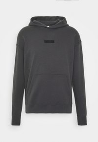 Abercrombie & Fitch - PATCH PERFECT - Hoodie - asphalt
