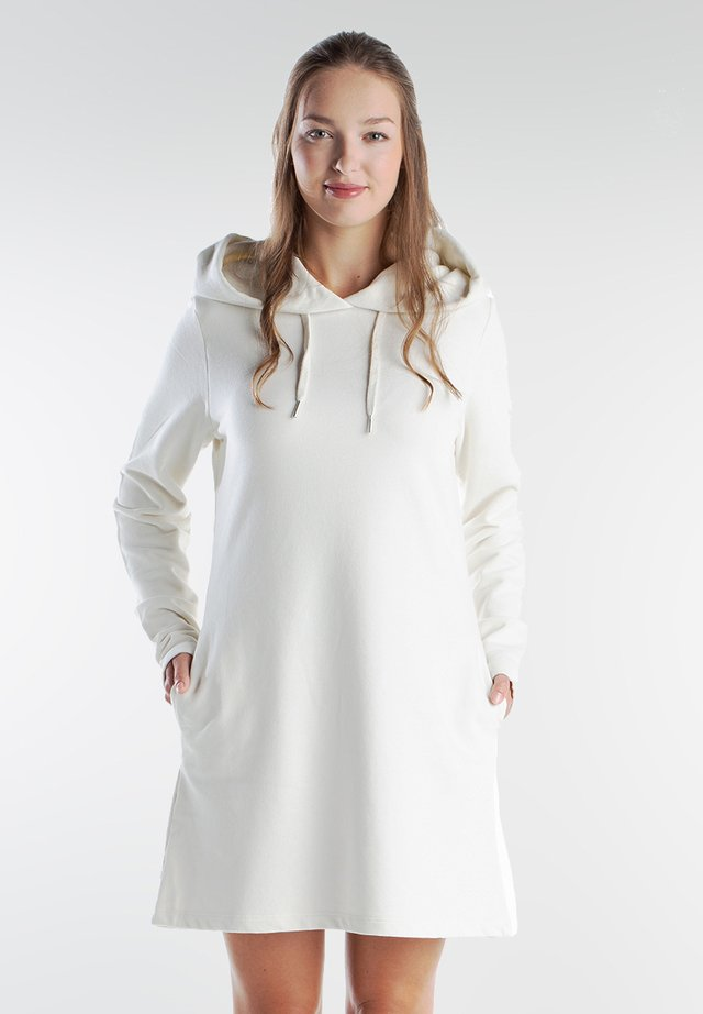 Korte jurk - milky