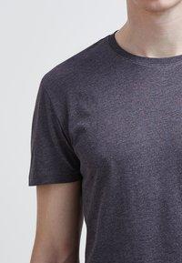 Pier One - T-shirt - bas - dark grey melange - 5