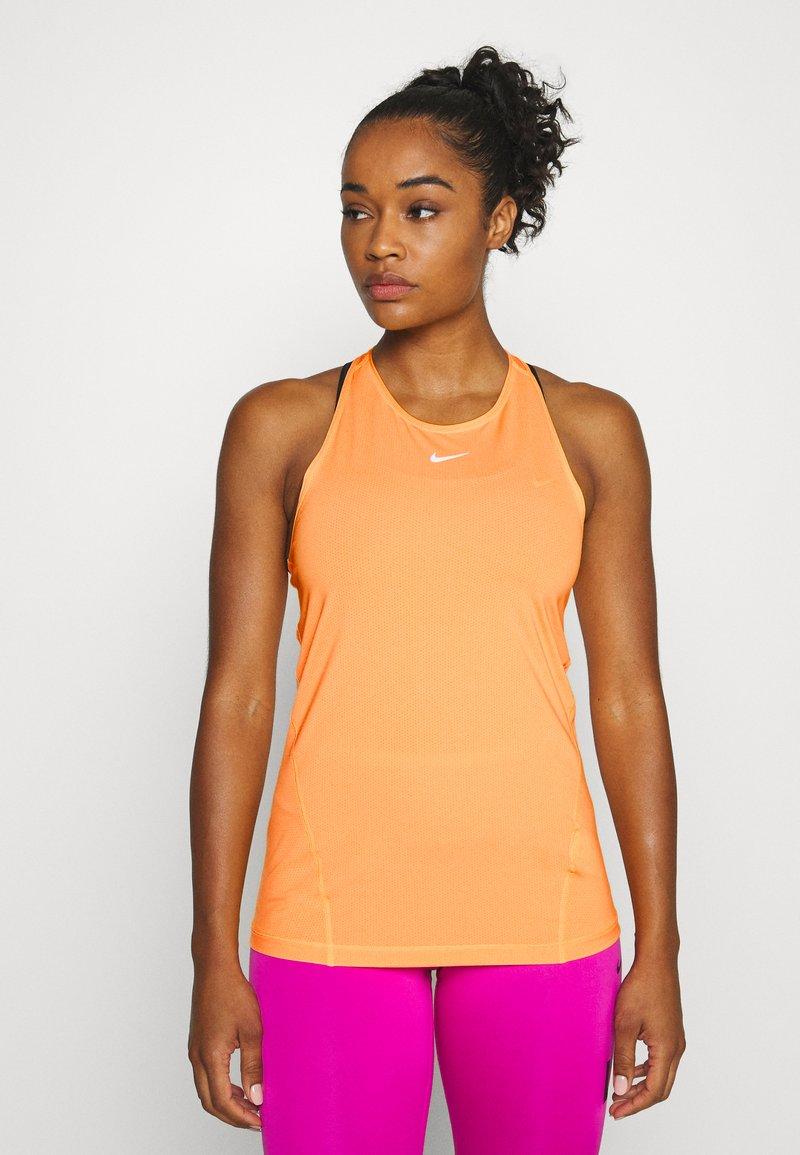 Nike Performance - TANK ALL OVER  - Funktionstrøjer - laser orange
