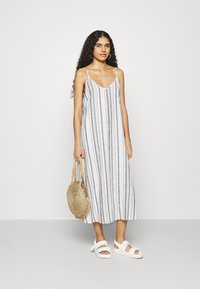 Zign - Day dress - blue/white - 1