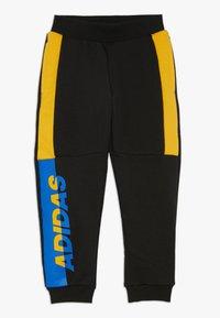 adidas Performance - PANT - Tracksuit bottoms - black/active gold/blue - 0