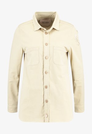 CUSS  - Button-down blouse - safari
