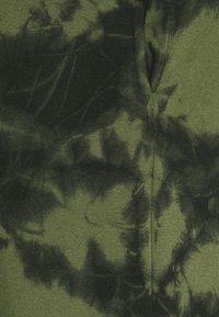Urban Threads - TIE DYE  - Tracksuit bottoms - khaki - 2