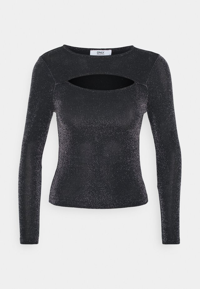 ONLSTAR DETAIL  - Bluzka z długim rękawem - black