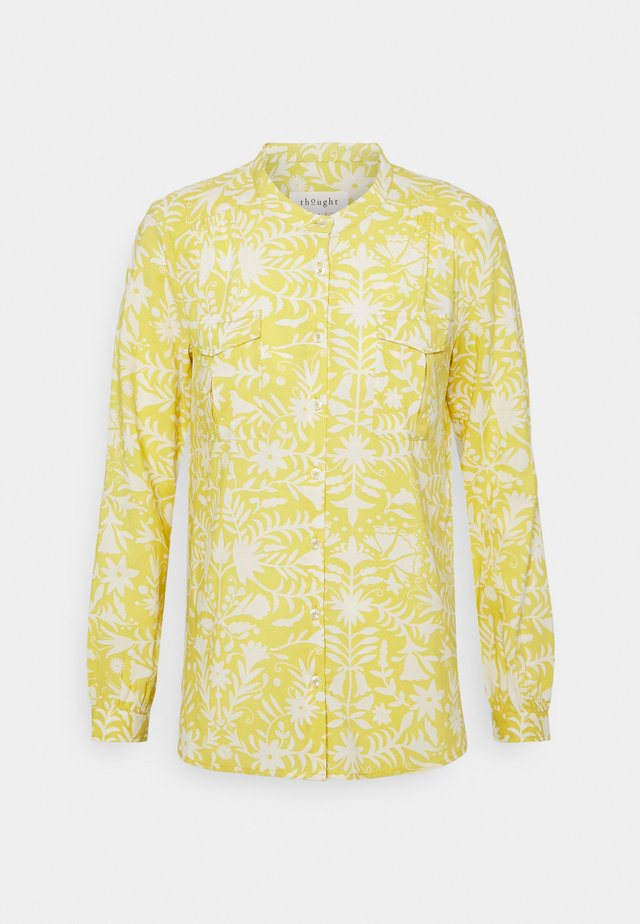 OTOMI BLOUSE - Blouse - lemon yellow