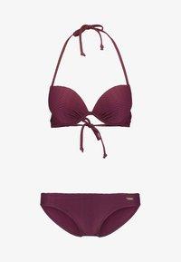 PUSH UP - Bikini - bordeaux