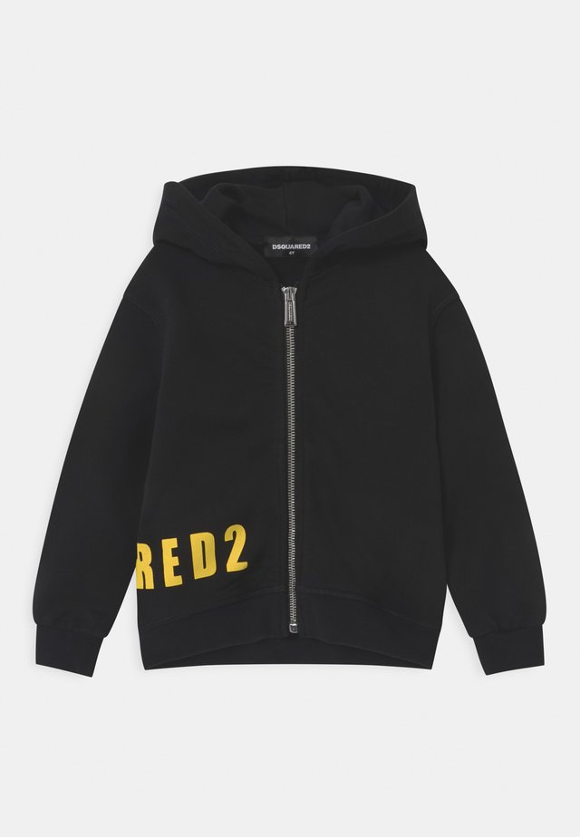 UNISEX - Zip-up hoodie - black