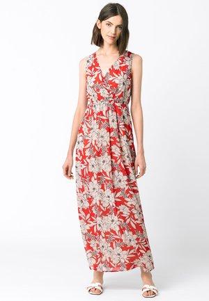 MIT BLUMENDRUCK - Maxi dress - multicolor