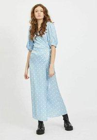 Vila - Maxi dress - cashmere blue - 1