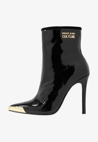 Versace Jeans Couture - HIGHT TOP STILETTO  - High heeled ankle boots - nero - 1