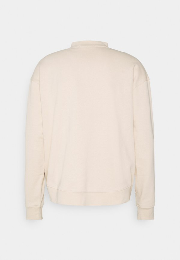 Mennace ESSENTIAL SIGNATURE HIGH NECK UNISEX - Bluza - sand/piaskowy Odzież Męska LWML