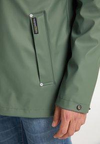 Schmuddelwedda - Waterproof jacket - green - 3