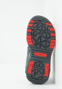 KangaROOS - CELTIC - Walking sandals - steel grey/red - 5
