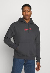 Nike Sportswear - COURT HOODIE - Sweatshirt - anthracite - 0