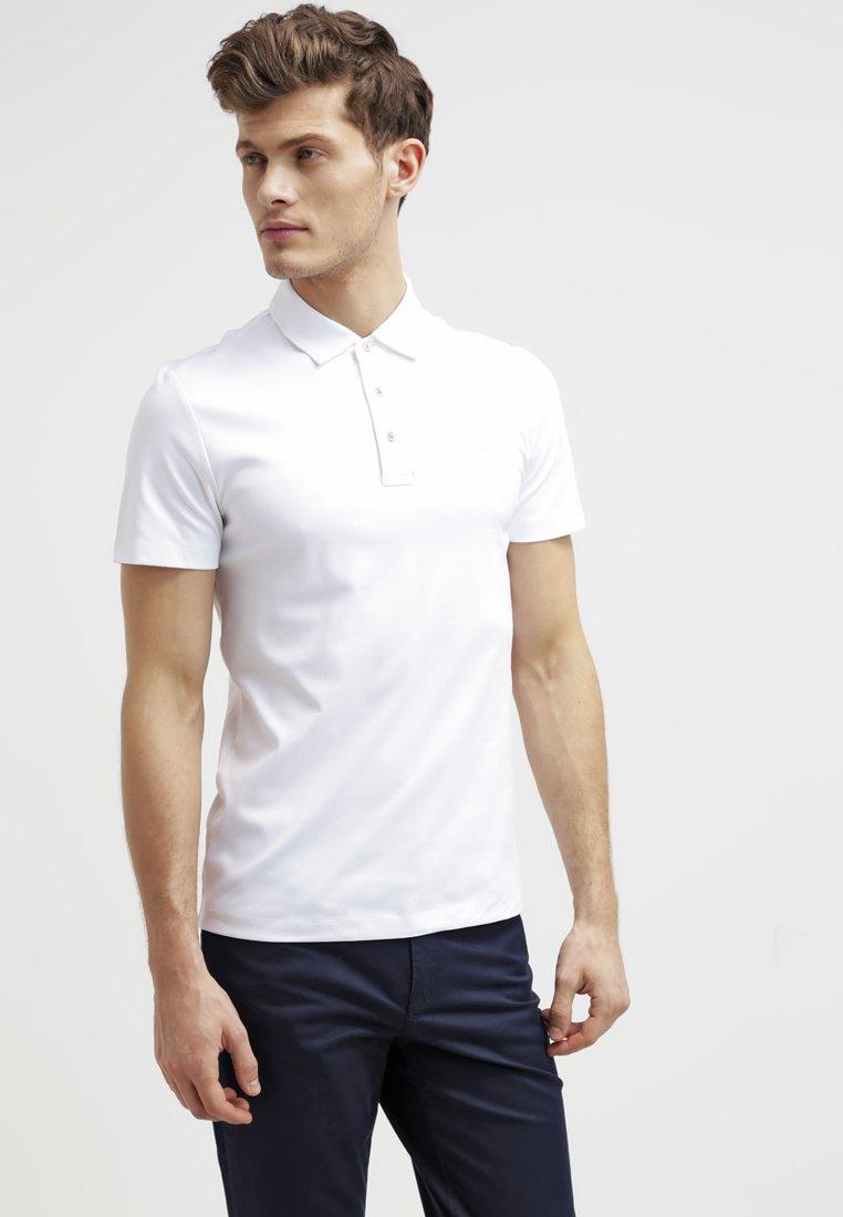 Hombre Polo - white