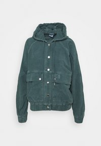 BDG Urban Outfitters - HOODED JACKET - Light jacket - teal - 0