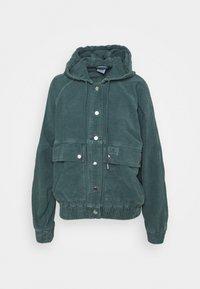 BDG Urban Outfitters - HOODED JACKET - Lett jakke - teal - 0