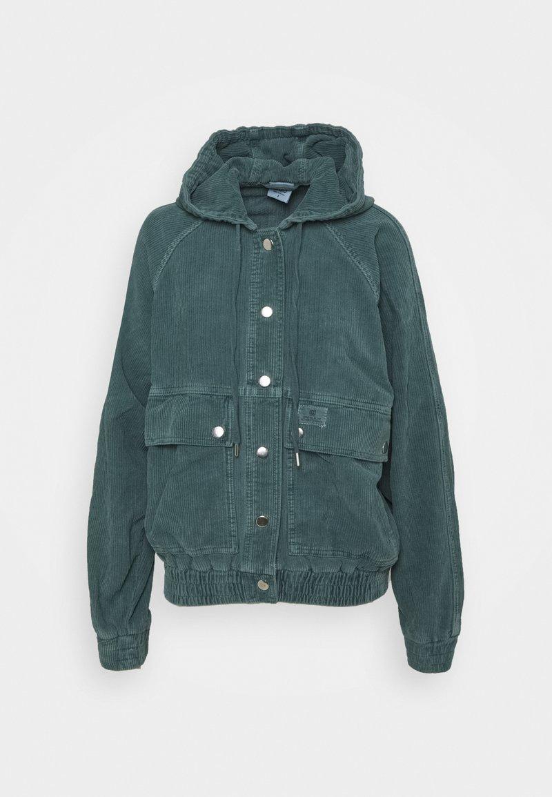 BDG Urban Outfitters - HOODED JACKET - Lett jakke - teal