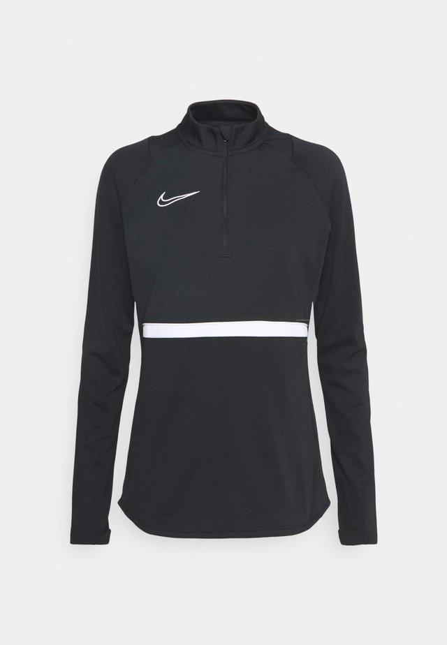 DRY ACADEMY  - Fleece jumper - black/white