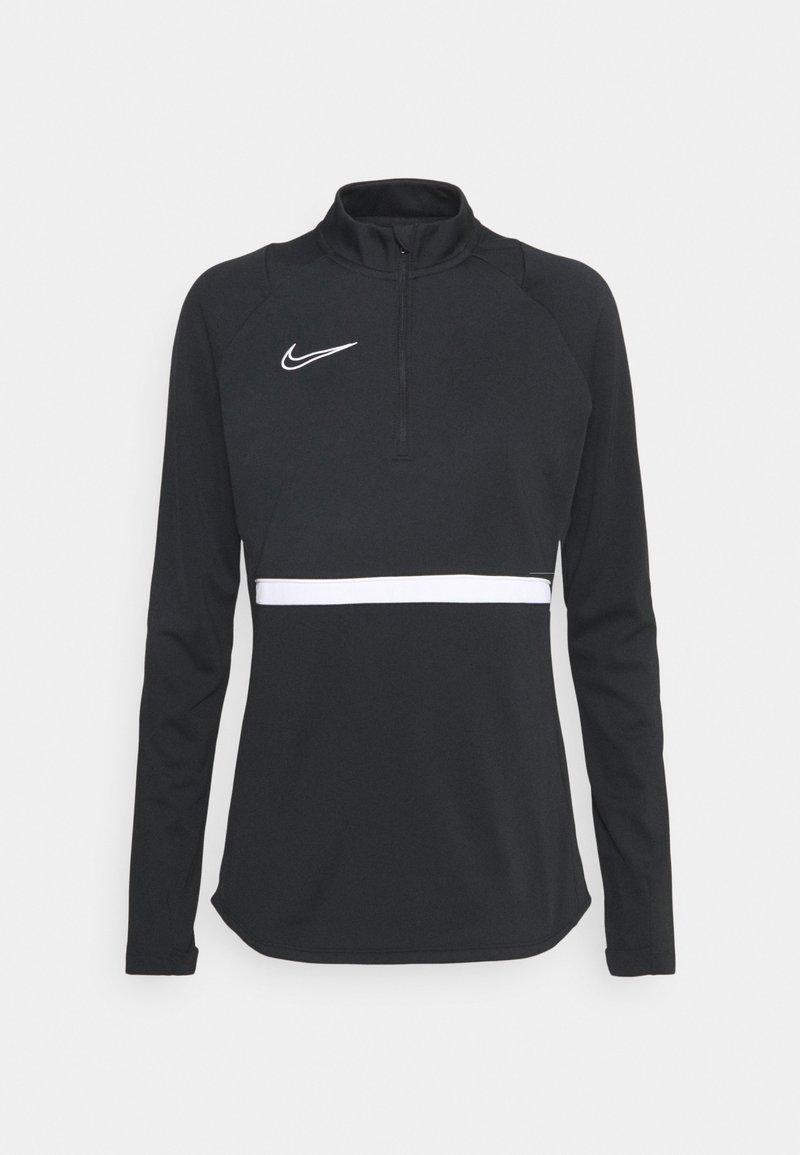 Nike Performance - ACADEMY 21 - Sudadera - black/white
