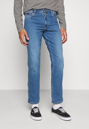 TEXAS - Jeansy Straight Leg - blazing blue