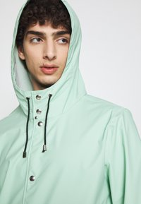 Stutterheim - STOCKHOLM - Waterproof jacket - green mint - 4