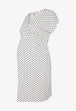 EVI MATERNITY DRESS - Vestido ligero - off white/black