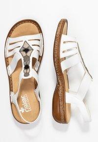 Rieker - Sandals - weiß - 3