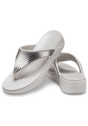 Sandalias de dedo - silber