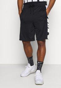 Nike Performance - Sportovní kraťasy - black/white - 0