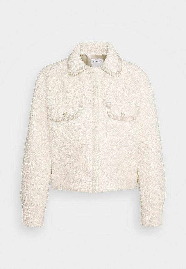 TEDY - Summer jacket - ecru