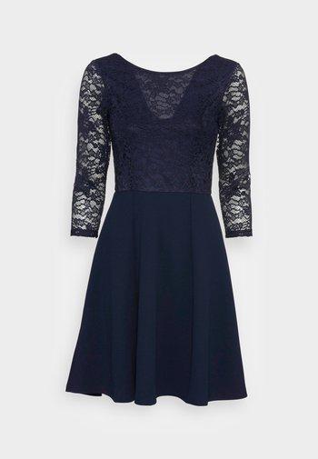 QUARTER SLEEVES OCCASION MINI DRESS - Cocktail dress / Party dress - dark blue