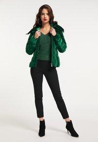 faina - Winter jacket - smaragd - 1