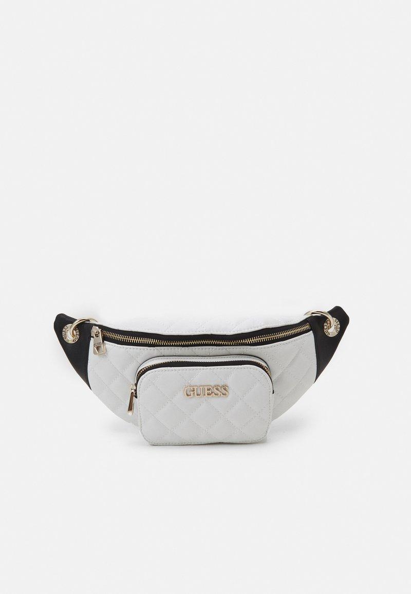 Guess - ILLY CROSSBODY BELT BAG - Bum bag - white multi