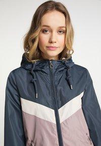 DreiMaster - Light jacket - grau blau vint.rosa - 3
