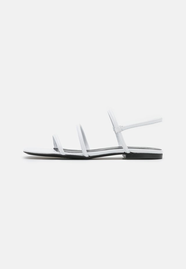 EASY - Sandals - white