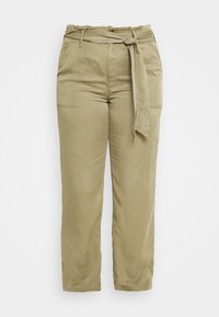 CAPSULE by Simply Be - WIDE LEG PANT - Trousers - khaki - 3