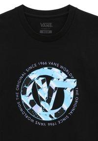 Vans - MN V TIME MACHINE SS - Print T-shirt - black - 2