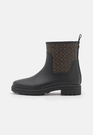 RAIN BOOT - Regenlaarzen - black/brown