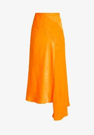 SKIRT - Maxi skirt - orange