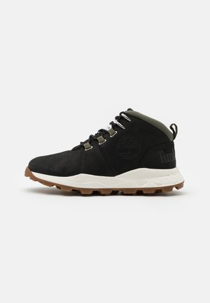 BROOKLYN CITY MID - Höga sneakers - black