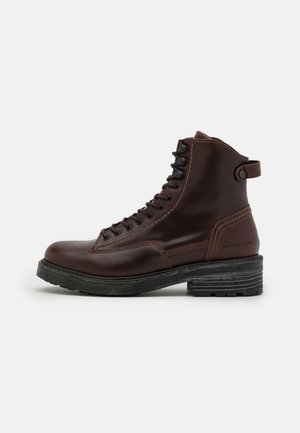 ROOFER IV MID LEA W - Lace-up ankle boots - brown