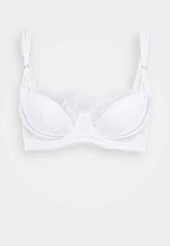 THE BLOSSOM PLUNGE - Kaarituelliset rintaliivit - white