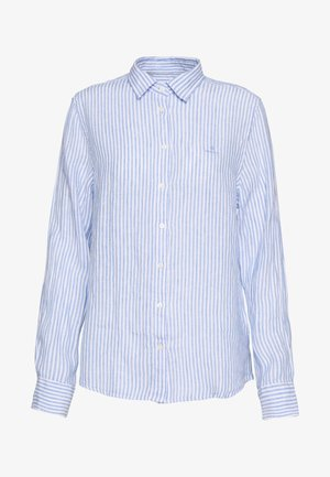 CHAMBRAY - Camisa - pacific blue