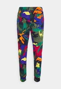 Polo Ralph Lauren - POLO PONY CAMO DOUBLE-KNIT JOGGER PANT - Tracksuit bottoms - multicoloured - 1